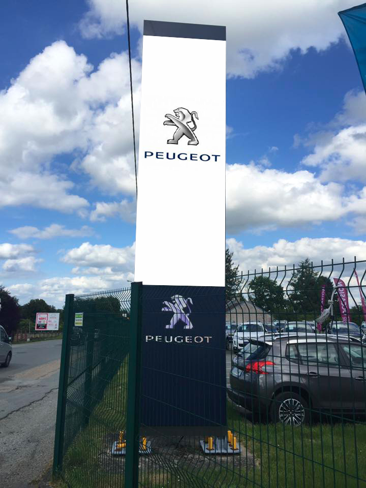 Totem Peugeot